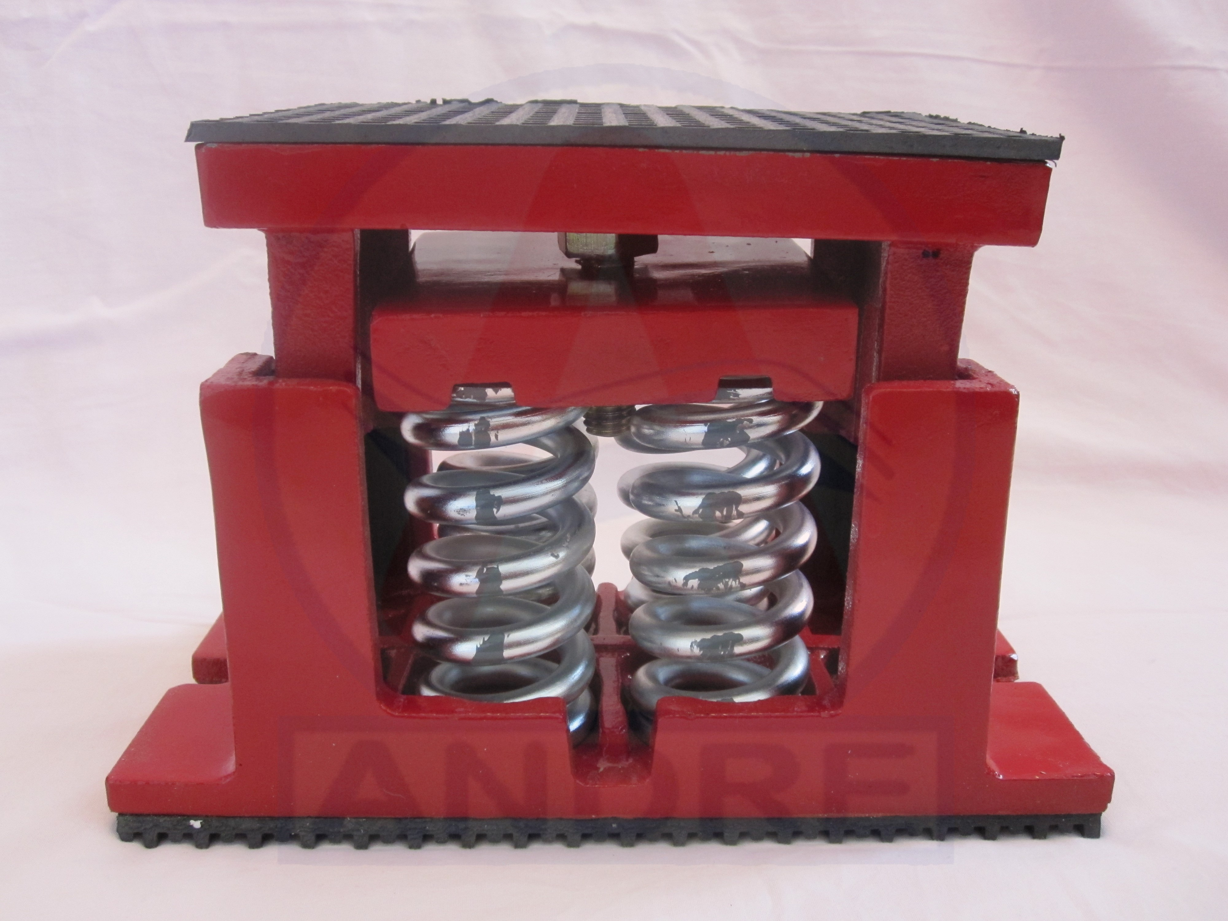 Spring isolators for chillers vibration control products